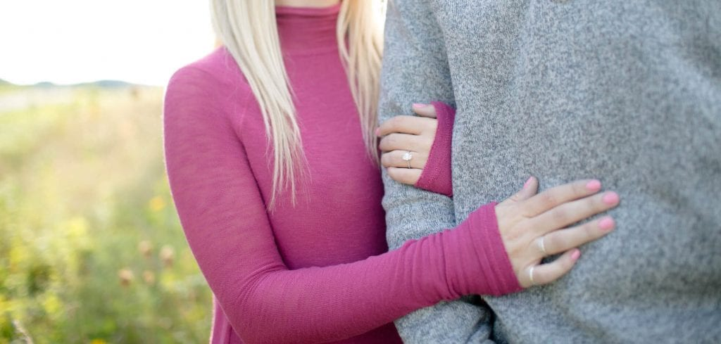 Hannah Brady Engagement Diamond Ring Financially Engaged